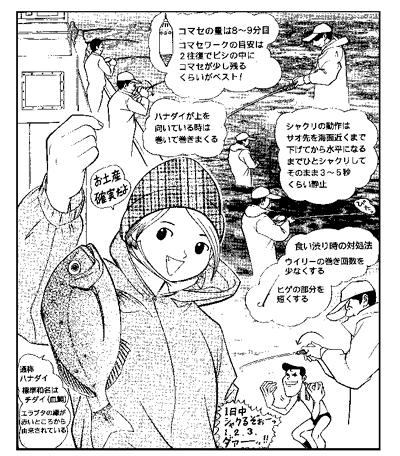 週刊つりニュース本文イラスト