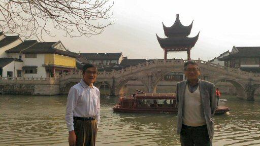 世界遺産 京杭大運河(蘇州支流)2018/3/24