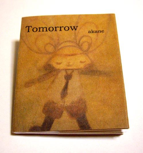豆絵本「Tomorrow」