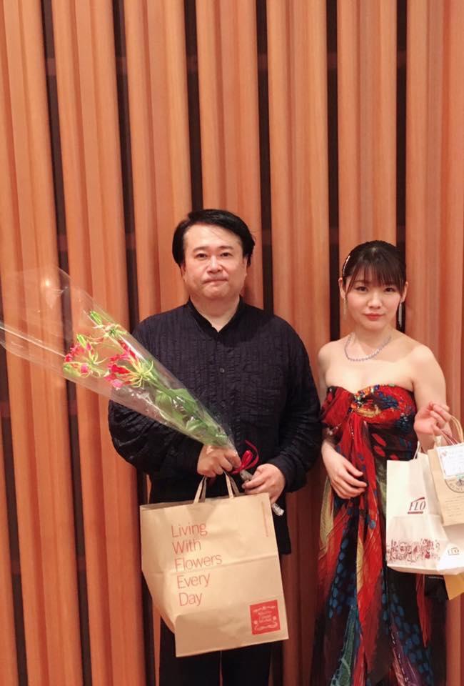6月10日 リスト音楽院の仲間たち 長富彩さんと