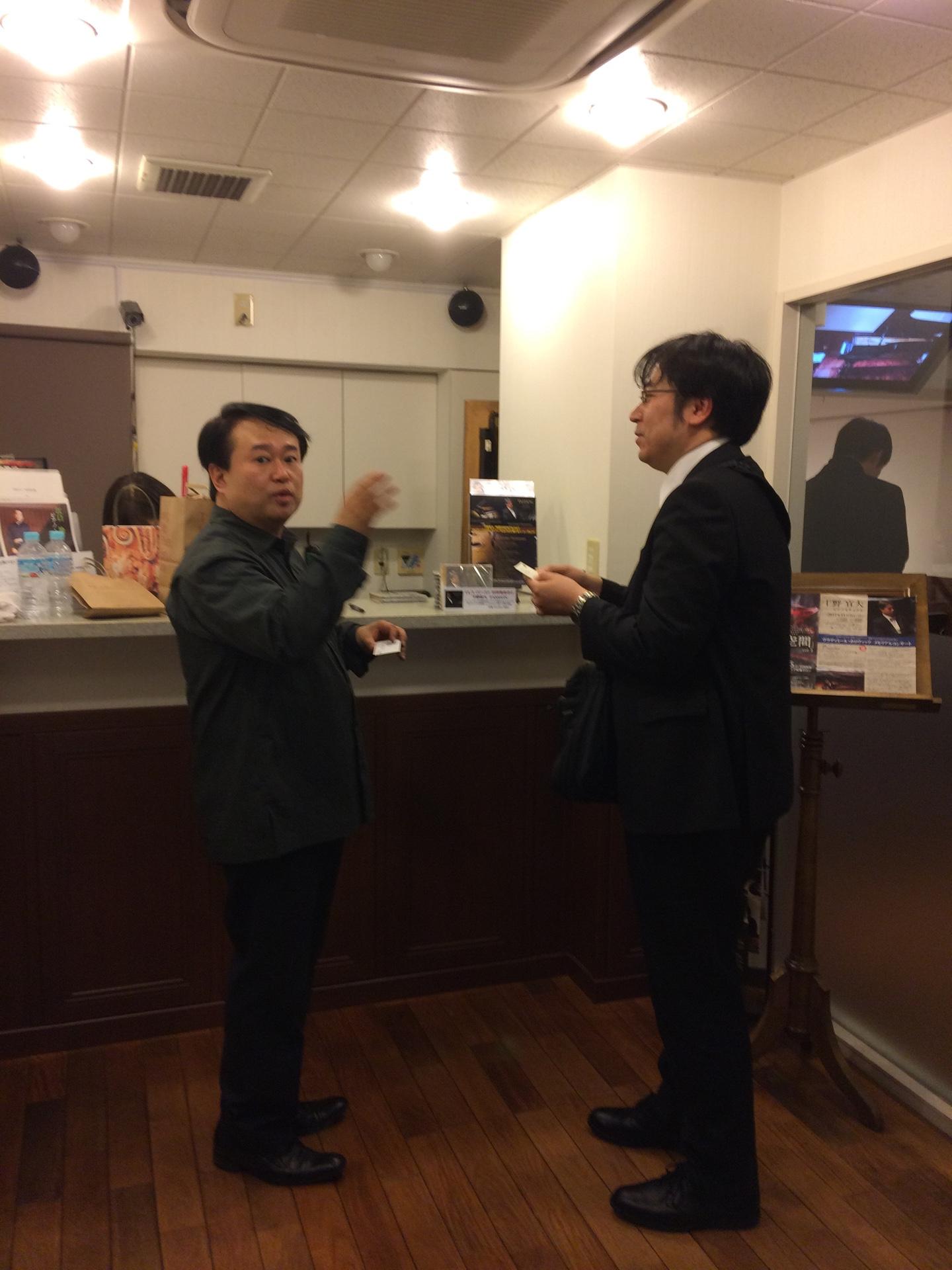 ホロヴィッツメモリアルコンサート 松涛サロン