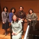 全国アマチュア学生ピアノコンクール 審査員の先生方と
