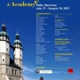 2017 8/8-19 Euro Music Festival and Academy ドイツ/ハレ