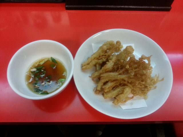 季節物の天ぷら