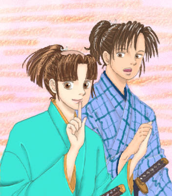 沖田先生とセイちゃん