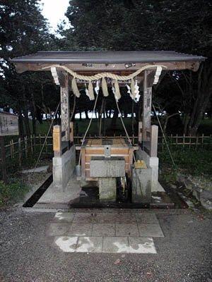 天橋立の井戸