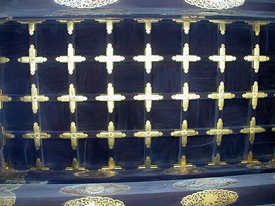 二条城の正門の天井