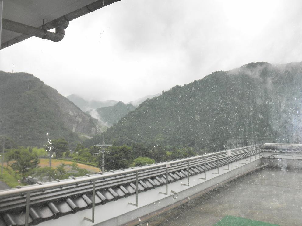 クアハウス湯ノ山から見た風景