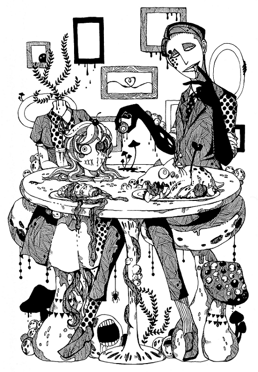 黒の食事会