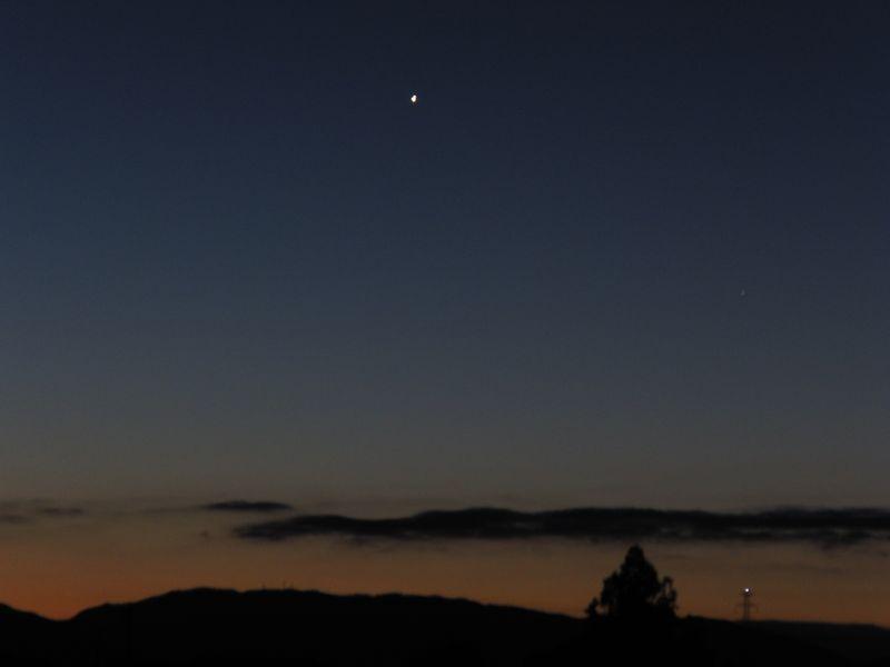 20121225明けの明星