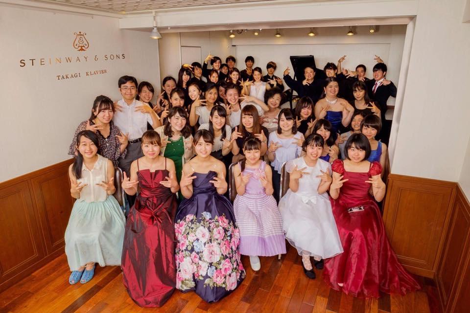 7/8(土)門下生による夏の発表会 タカギクラヴィア 松涛サロン