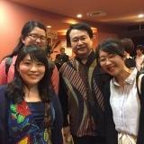 5/2 干野宜大×川田健太郎 ピアノデュオリサイタル 終演後