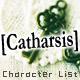 [Catharsis]