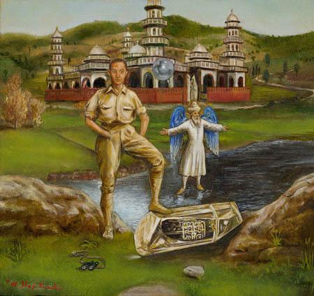 L'apparence du temple de la caste