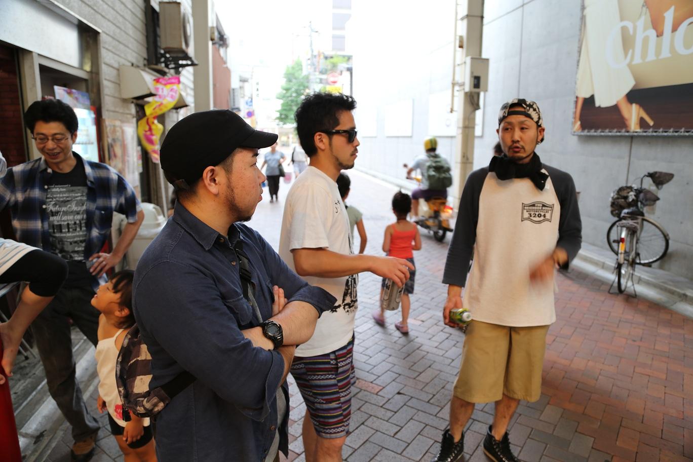 2013-8-10 新潟WOODY 「ならぬことはならぬ」レコ発